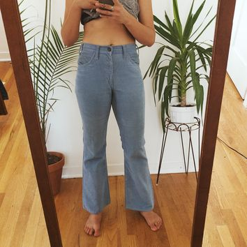 RARE Vintage Levi's Powder Blue Corduroy Pants