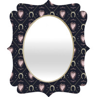 Belle13 Lucky Love Web 2 Quatrefoil Mirror