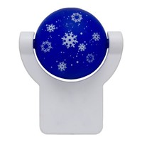 Projectables LED Plug-In Night Light (Holiday Snowman)