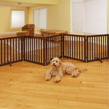 Martha Stewart Pets® 3 Panel Wood Gate