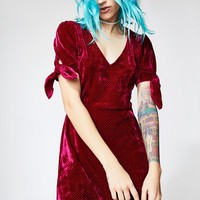 All 4 Luv Velvet Dress