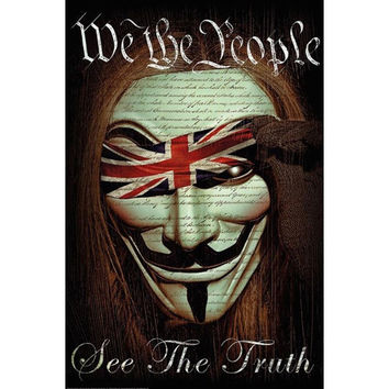 We the People - See the Truth 24x36 Standard Wall Art Poster