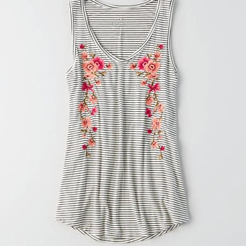 AEO Soft & Sexy Favorite Tank , Cream