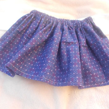 Newborn Bow skirt, newborn skirt, newborn circle skirt 0-3 month