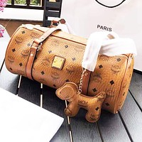 MCM Fashion Women Shopping Bag Leather Handbag Shoulder Bag Satchel