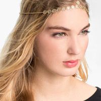 Carole Floral Chain Head Wrap | Nordstrom