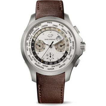 Girard-Perregaux Traveller ww.tc Chronograph Titanium Men's Watch 49700-21-132-HBBB