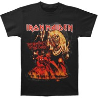 Iron Maiden Men's  Number Of The Beast T-shirt Black