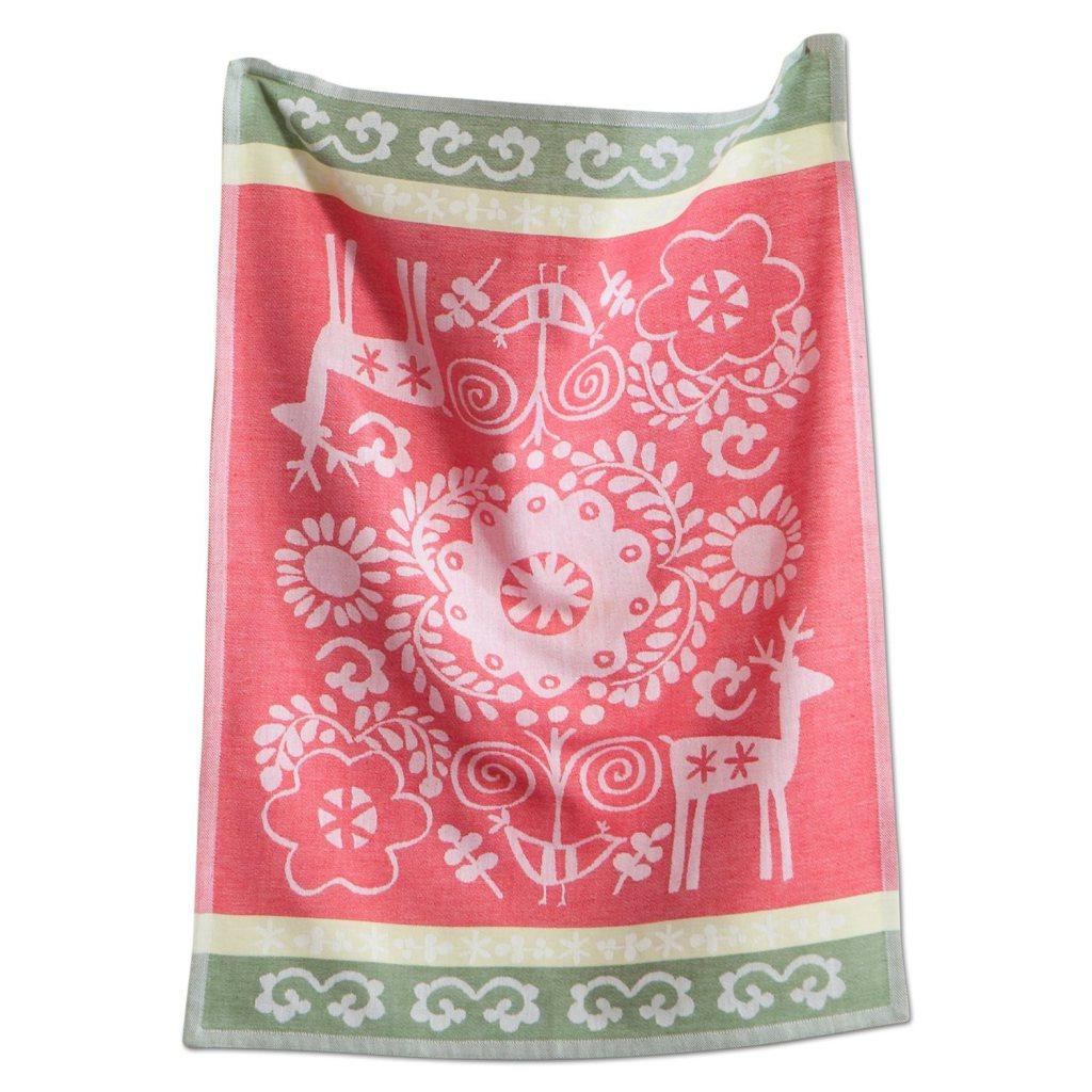 Nordic Holiday Christmas Dish Towel, From Toad Hollow