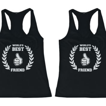 World's BFF Tank Tops