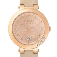 VERSUS by Versace Lantau Island Leather Strap Watch, 36mm | Nordstrom