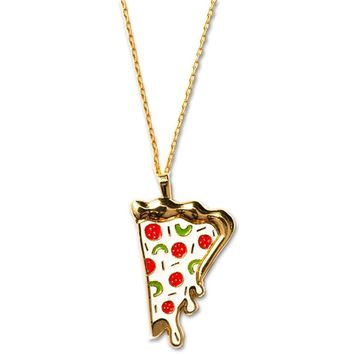 Pizza Slice Necklace - J123