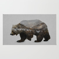 The Kodiak Brown Bear Rug by Davies Babies