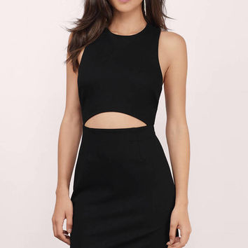 Skyline Cross Back Midi Dress