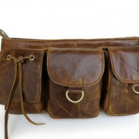 Beautifully crafted Vintage Leather Fanny Pack - Waist Bag | mundialtreasures - Bags & Purses on ArtFire