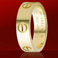 Cartier Yellow Gold Love Ring,cartier ring size chart,cartier ring prices singapore