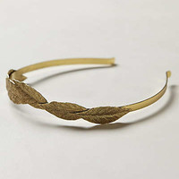 Anthropologie - Wrapped Leaf Headband