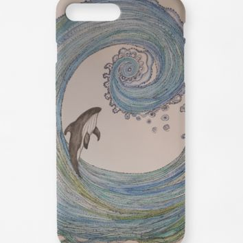 Mystic Surf iphone case