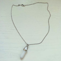 Unisex Milk White Necklace Cute Birthday Gifts for Friends