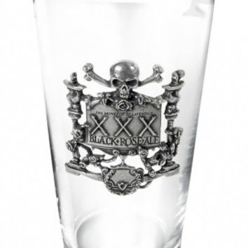 XXXBlack Roase Ale Glass