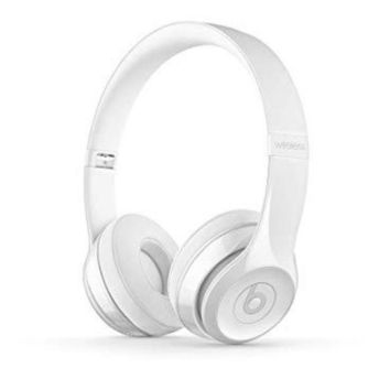 PEAP Beats Solo3 Wireless On-Ear Headphones -W1-core chip - Gloss White