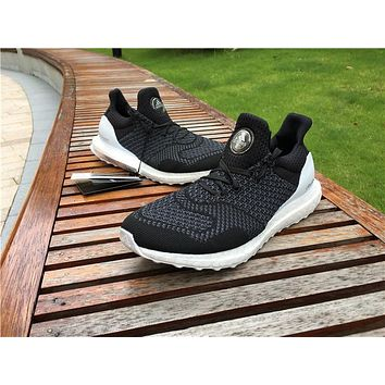 adidas ultra boost black white Basketball Shoes 36-47