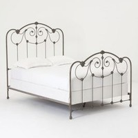 Lydia Bed by Anthropologie Black