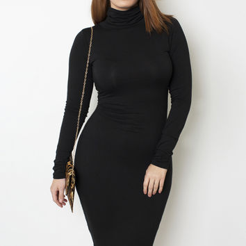 Grisel. Sleek Turtle Neck Dress *Pre-Sale* - Shop Women's Missy & Plus Size Clothing