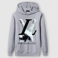 Boys & Men Louis Vuitton Fashion Casual Top Sweater Pullover Hoodie