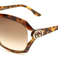 Gucci Women's GUCCI 3110/S Rectangular Sunglasses - designer shoes, handbags, jewelry, watches, and fashion accessories | endless.com