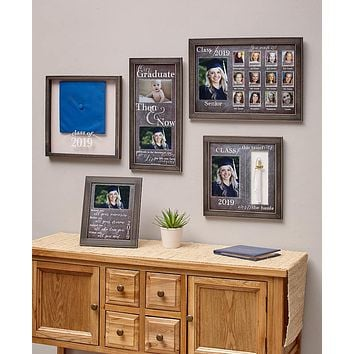 Graduate Graduation Photo Frame Keeper Saver Collection Gifts, Gift Set