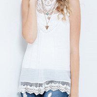 Can't Get Enough Top - Ivory