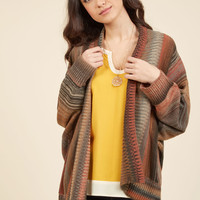 Pub Crawl Panache Striped Cardigan | Mod Retro Vintage Sweaters | ModCloth.com