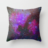 North America Nebula: Stars in the space. Throw Pillow by Guido Montañés | Society6