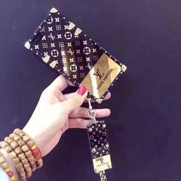 LV Fashion iPhone Phone Cover Case For iphone 6 6s 6plus 6s-plus 7 7plus hard shell G-AGG-CZDL
