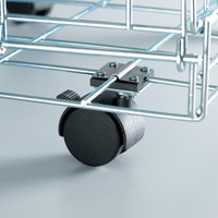 Universal Crate Casters 2 pack