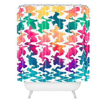 Elisabeth Fredriksson Summer Splash Shower Curtain