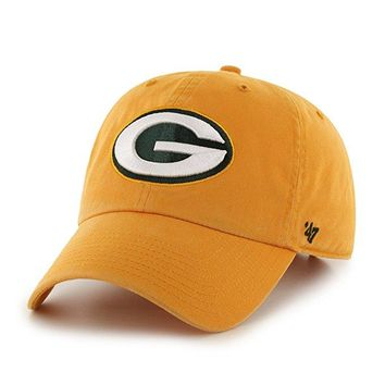 Green Bay Packers Clean Up Hat by 47 Brand