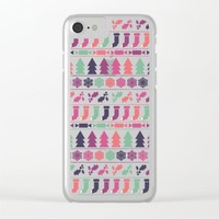 Christmas 2016 Clear iPhone Case by Fimbis