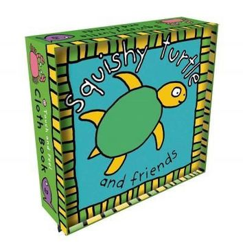 Squishy Turtle: And Friends (Touch and Feel Cloth Book): Squishy Turtle (Touch and Feel Cloth Books)