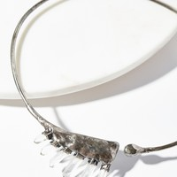 Free People Cassiopeia Raw Quartz Choker