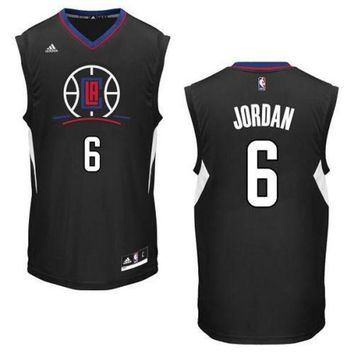 ONETOW Los Angeles Clippers Deandre Jordan #6 jerseys