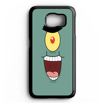 funny faces of plankton Samsung Galaxy S4 Galaxy S5 Galaxy S6 Edge Case | Note 3 Note 4 Note 5 Case