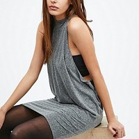Silence + Noise Whenever Wherever Dress in Grey - Urban Outfitters