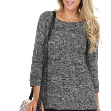 Everyday Knit Sweater Marled