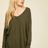 Double Lunch Date Sweater in Olive | Mod Retro Vintage Sweaters | ModCloth.com