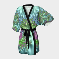 Design: Show Off - Kimono Robe, Robe, Bath Robe, Lounge Wear, Coverup, Swim Coverup, Gift Idea