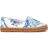 Printed jacquard espadrilles | DOLCE & GABBANA | Sale up to 70% off | THE OUTNET