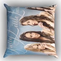 Pretty Little Liars X0638 Zippered Pillows  Covers 16x16, 18x18, 20x20 Inches