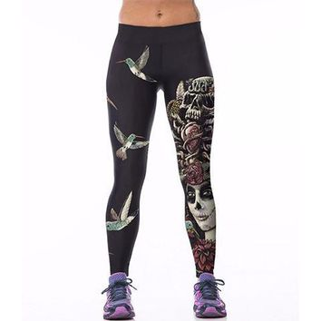 Goth Painting Leggings